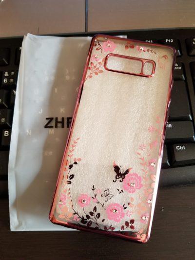 Galaxy Note8 TPUカバー