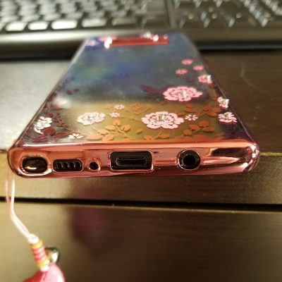 Galaxy Note8 ケース下部分