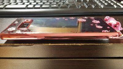 Galaxy Note8 ケース右部分