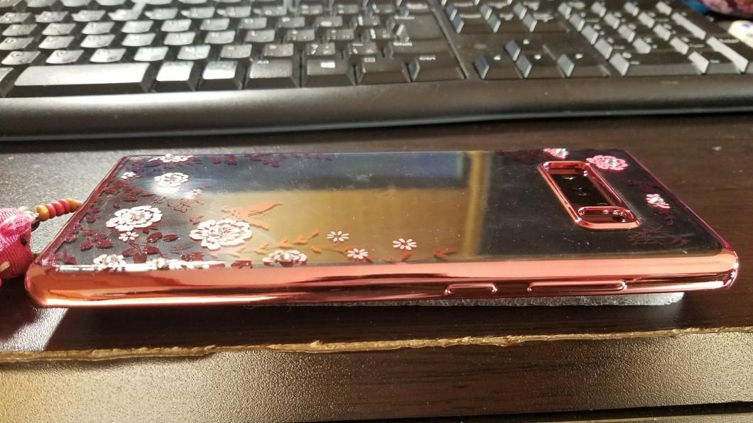 Galaxy Note8 ケース左部分