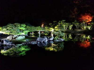 栗林公園秋のライトアップ05