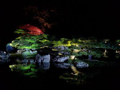 栗林公園秋のライトアップ06