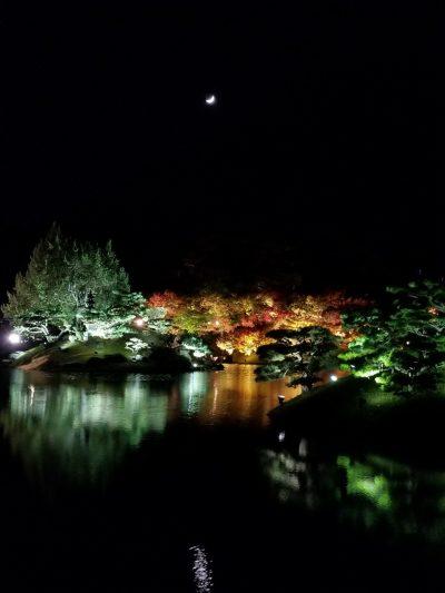 栗林公園秋のライトアップ07