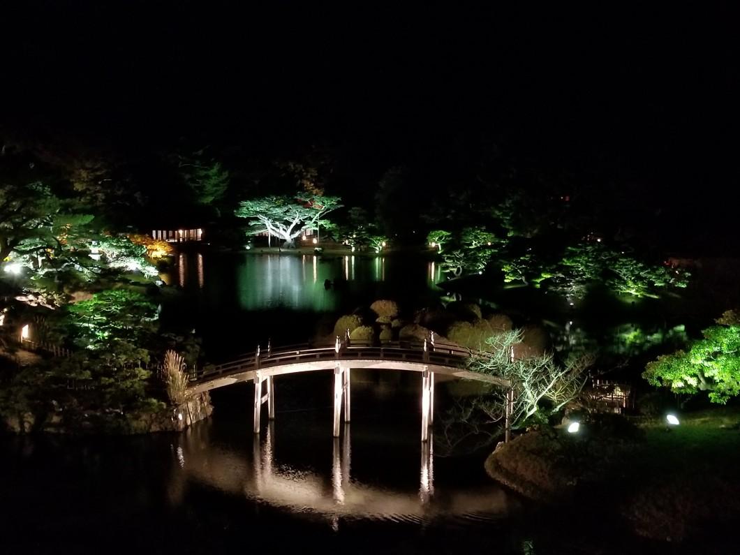 栗林公園秋のライトアップ08