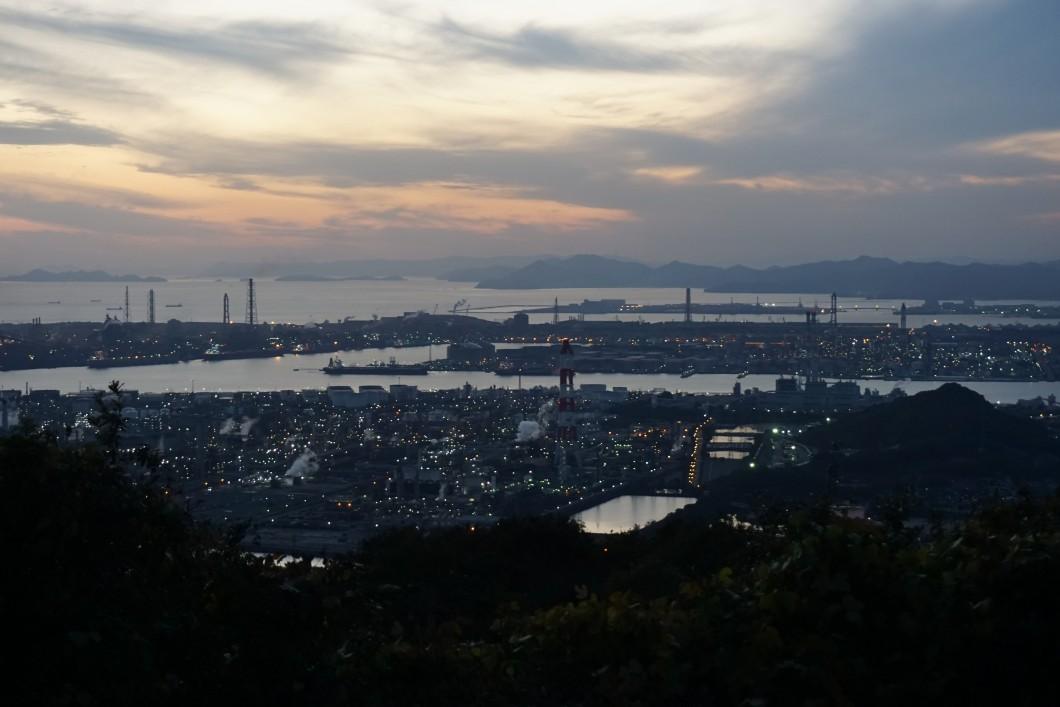 鷲羽山スカイライン水島展望台