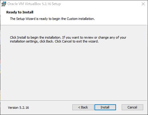 VirtualBoxインストール画面(5)